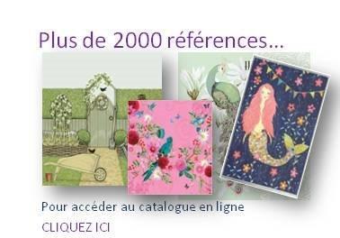 Plus de 2000 références, accédez au catalogue en ligne
